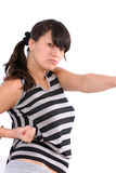 Don't mess with me! Royalty Free Stock Photo