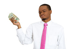 Don't need this money Royalty Free Stock Photo