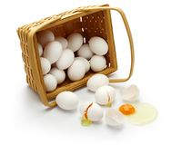 Free Don't Put All Your Eggs In One Basket. Stock Photos - 105330423