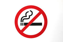 Don't smoke sign icon Royalty Free Stock Photography
