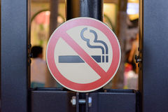 Don't smoke sign Stock Photography