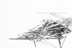 Pile of pins Stock Photo