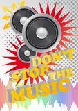 Don't stop the music Royalty Free Stock Photos