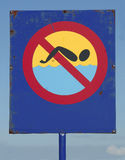 Don't swim Royalty Free Stock Images
