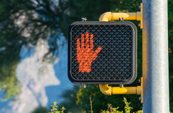 Don't Walk! Royalty Free Stock Photography