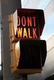 Don T Walk Sign Stock Photo
