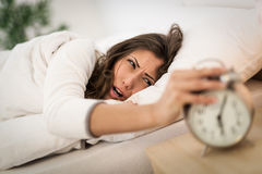Don't Want To Wake Up Royalty Free Stock Images