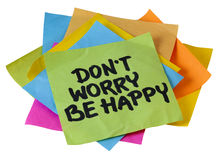 Don't worry be happy Stock Images