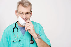 Don't worry, patient is recovering ! Stock Photography