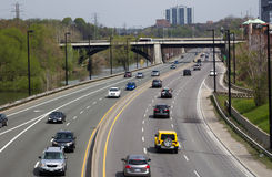 Don Valley Parkway Stock Photos
