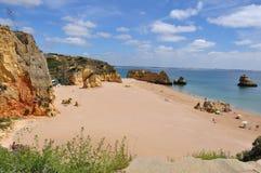 Dona Ana Beach Imagem de Stock Royalty Free