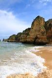 Dona Ana Beach, Lagos, Portugal Royalty Free Stock Photography
