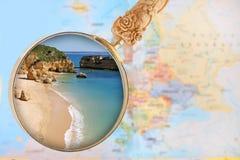 Dona Ana Beach Royalty Free Stock Photography