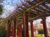 Dona Casilda de Iturrizar Park in Bilbao Royalty Free Stock Photo