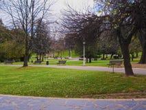 Dona Casilda de Iturrizar Park in Bilbao Royalty Free Stock Image
