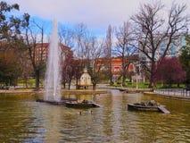 Dona Casilda de Iturrizar Park in Bilbao Royalty Free Stock Photos