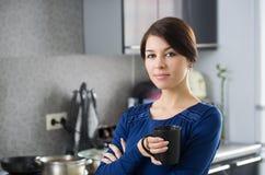 Dona de casa da manhã Fotografia de Stock