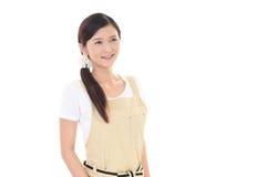Dona de casa de sorriso Fotografia de Stock