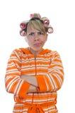 Dona de casa irritada Imagens de Stock Royalty Free