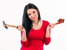 Dona de casa nova Foto de Stock