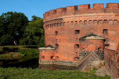 Dona de la torre en Kaliningrado Imagen de archivo libre de regalías