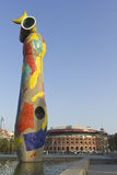 Dona ja Ocell Joan Miro obrazy stock