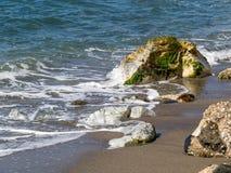 Dona Lola beach in Calahonda Costa del Sol Royalty Free Stock Image