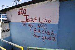 Dona Marta Slum fotografia stock