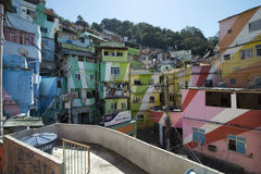 Dona Marta Slum Stock Photography