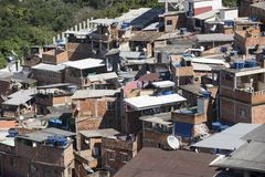 Dona Marta Slum Royalty Free Stock Images
