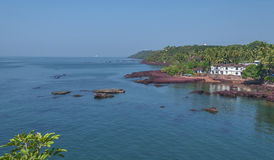 Dona Paula Beach Goa, India fotografia stock