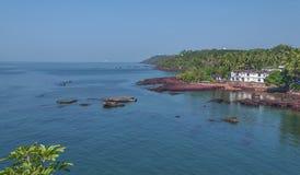 Dona Paula Beach Goa, la India Fotografía de archivo