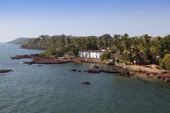 Dona Paula cape. Goa. Stock Image
