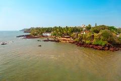 Dona Paula przyl?dka punkt widzenia, Goa obrazy royalty free