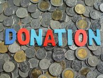 donación imagenes de archivo