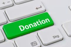 donación Fotos de archivo libres de regalías