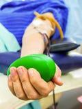 Donación de sangre Foto de archivo libre de regalías