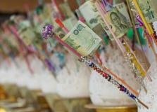 Donación del dinero Fotos de archivo