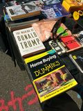 Donald atutu książka Fotografia Stock