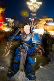 Donald atutu maska przy karnawałem viareggio fotografia royalty free