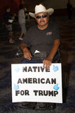 Donald atutu Prezydenckiej kampanii pierwszy wiec w Phoenix fotografia stock