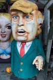 Donald atutu wosku statua zdjęcie stock