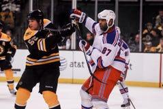 Donald Brashear, New York Rangers Στοκ Φωτογραφίες