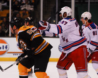 Donald Brashear, New York Rangers. Stock Photos