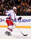 Donald Brashear, New York Rangers. Stock Photography