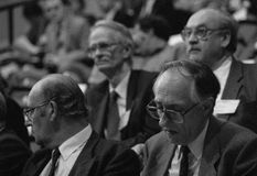 Donald Dewar-MP Stock Fotografie