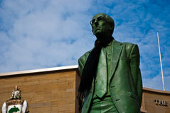 Donald Dewar statue at Buchanan street, Glasgow Royalty Free Stock Images