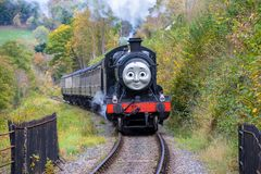 Donald Douglas kontrpary pociągu część Thomas The Tank Engine obraz royalty free