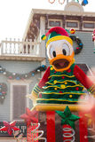 DONALD DUCK Celebrate Christmas New Year Stock Photography