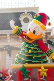 DONALD DUCK Celebrate Christmas New Year Stock Photos